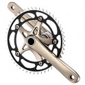 SINGLE SPEED ALLOY CRANKSET - SHUN SS-8144