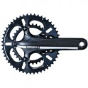 ROAD 3K HOLLOW CARBON 10-SPEED TT CRANKSET - DRIVELINE ZELE-TT