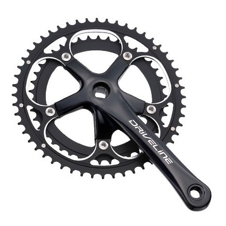 ROAD 9-SPEED DOUBLE CRANKSET - DRIVELINE DURABI-300