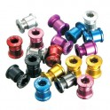 ANODIZED ALLOY ROAD CHAINRING BOLTS - DRIVELINE AL-M8-R
