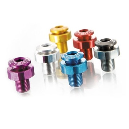 ANODIZED ALLOY ROAD CHAINGUARD BOLTS - DRIVELINE AL-M8G-R