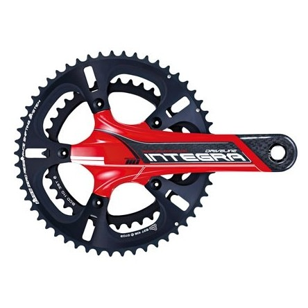 ROAD CARBON 11-SPEED BB30 CRANKSET - DRIVELINE INTEGRA