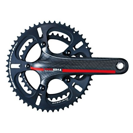 ROAD 3K HOLLOW CARBON 11-SPEED CRANKSET - DRIVELINE ZELE