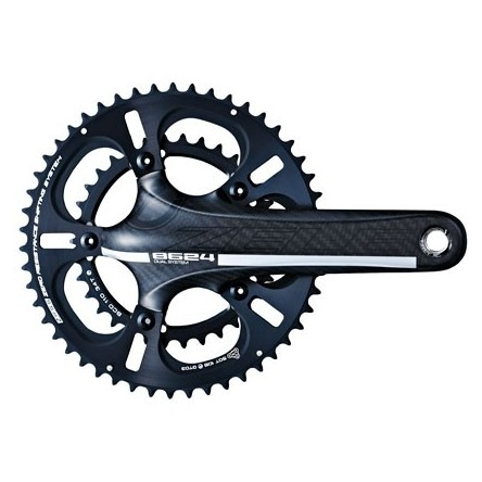 ROAD 3K HOLLOW CARBON 11-SPEED TT CRANKSET - DRIVELINE ZELE-TT