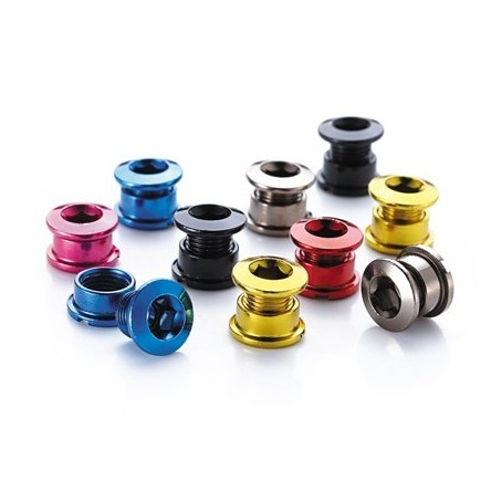 ANODIZED STEEL MTB CHAINRING BOLTS - DRIVELINE ED-M8-M